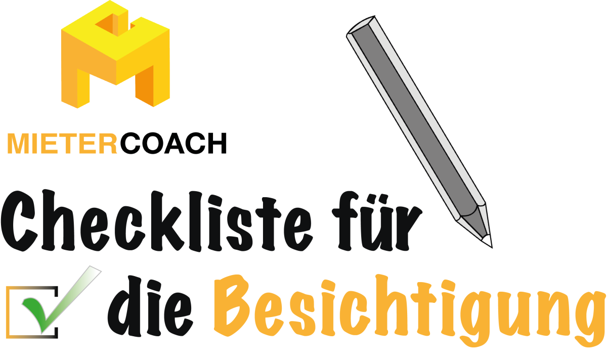 wohnungssuche ihre checkliste f r die besichtigung der mietercoach. Black Bedroom Furniture Sets. Home Design Ideas