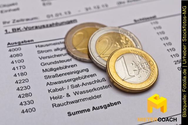 Nebenkosten und Betriebskosten: Abrechnung überprüfen, Fehler erkennen und richtig Einspruch einlegen